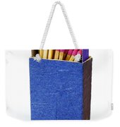 Matchbox Weekender Tote Bag by Carlos Caetano