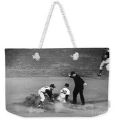 Maury Wills (1932- ) Weekender Tote Bag by Granger