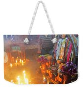 Maximon Ceremony In Guatemala Weekender Tote Bag