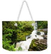 Mclean Falls In The Catlins Weekender Tote Bag