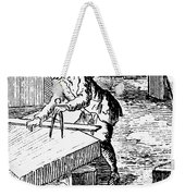 Measuring & Marking Stone Weekender Tote Bag