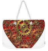 Mechanical Heart Weekender Tote Bag by Michal Boubin