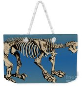 Megatherium Extinct Ground Sloth Weekender Tote Bag