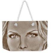 Michelle Pfeiffer In 2010 Weekender Tote Bag by J McCombie