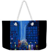 Midnight Drizzle Weekender Tote Bag