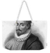 Miguel De Cervantes, Spanish Author Weekender Tote Bag