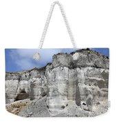 Minoan Eruption Deposits, Mavromatis Weekender Tote Bag