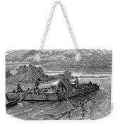 Mississippi: Flatboat Weekender Tote Bag