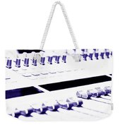 Mixing Console Weekender Tote Bag
