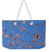 Monarch Danaus Plexippus Butterflies Weekender Tote Bag
