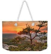Moore's Knob Sunset Weekender Tote Bag