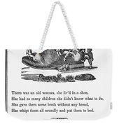 Mother Goose, 1833 Weekender Tote Bag by Granger