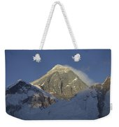Mount Everest Standing At 29,028 Feet Weekender Tote Bag