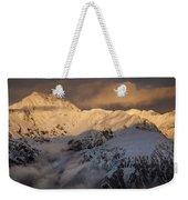 Mount Rolleston At Dawn Arthurs Pass Np Weekender Tote Bag
