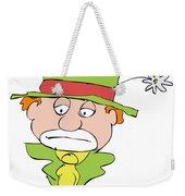 Mournful Clown Weekender Tote Bag