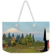 Mt. Adams In The Country Weekender Tote Bag