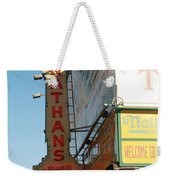 Nathan's Famous At Coney Island  Weekender Tote Bag