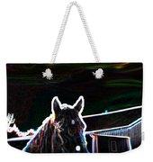 Neon Horse Weekender Tote Bag