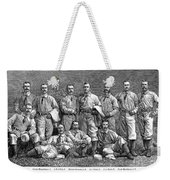 New York Baseball Team Weekender Tote Bag