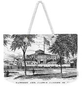 New York: Castle Garden Weekender Tote Bag