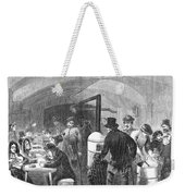 New York: Poverty, 1868 Weekender Tote Bag