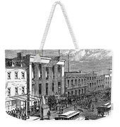 New York: The Bowery, 1871 Weekender Tote Bag