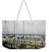 Newport Bay And Balboa Island Weekender Tote Bag
