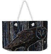 Night Owl - Digital Art Weekender Tote Bag