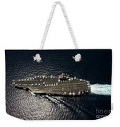 Nimitz Class Aircraft Carrier Uss Weekender Tote Bag