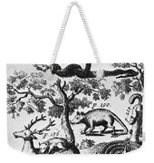 North America: Fauna Weekender Tote Bag