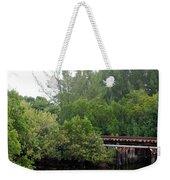 North Fork River Weekender Tote Bag