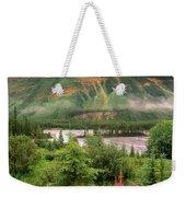 North Saskatchewan River Weekender Tote Bag