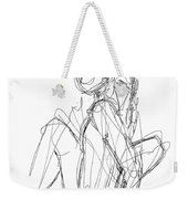 Nude Male Sketches 3 Weekender Tote Bag