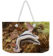 Nudibranch Feeding On The Reef, Fiji Weekender Tote Bag