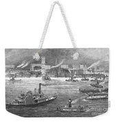 Nyc: The Battery, 1884 Weekender Tote Bag