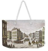 Occupied New York, 1776 Weekender Tote Bag
