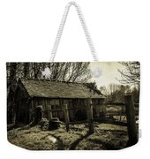 Old Fashioned Shed Weekender Tote Bag by Dawn OConnor