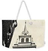 Old North Church In Boston Weekender Tote Bag by Elena Elisseeva
