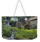 Old Watermill Weekender Tote Bag by Joana Kruse