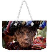 Old Woman Of Chichicastenango Weekender Tote Bag