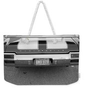Olds C S In Black And White Weekender Tote Bag