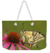 Oldworld Swallowtail Papilio Machaon Weekender Tote Bag