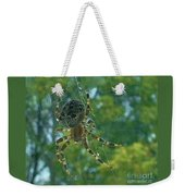 Orb Spider      Summer           Indiana Weekender Tote Bag