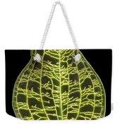 Orchid Leaf Weekender Tote Bag