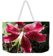 Orienpet Lily Named Scarlet Delight Weekender Tote Bag