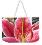 Oriental Lily Named La Mancha Weekender Tote Bag