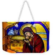 Orthodox Christmas Card Weekender Tote Bag