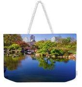 Osaka Japanese Garden Weekender Tote Bag by Jonah  Anderson