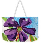 Our Very Bold Tibouchina Weekender Tote Bag