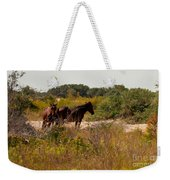 Outer Banks Horses Weekender Tote Bag